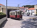 Sintra tram 4 at Banzao.jpg