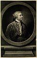 Sir John Hill. Mezzotint by R. Houston after F. Cotes, 1757. Wellcome V0002766.jpg