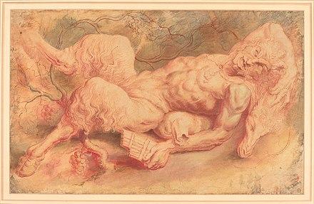 Sir Peter Paul Rubens%2C Pan Reclining%2C possibly c. 1610%2C NGA 56608., From WikimediaPhotos