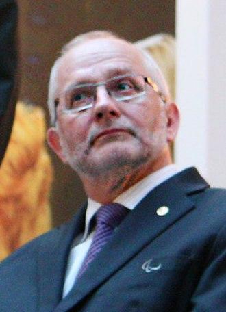 Philip Craven - Craven in 2012