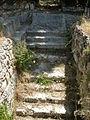 Siracusa, neapolis, anfiteatro romano 09 scalinata.JPG