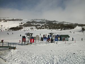 Perisher Ski Resort - Smiggin Holes.