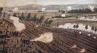 Sneden watercolor of Battle of Malvern Hill.jpg