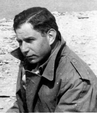 Solly Zuckerman, Baron Zuckerman - Zuckerman photographed in Tobruk in 1943 during the Western Desert Campaign