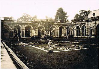 Somerleyton - Somerleyton Gardens in 1930.