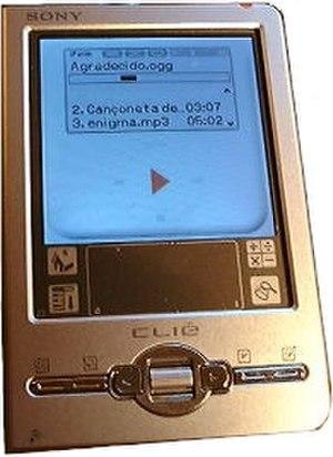 Sony CLIÉ PEG-TJ37 - Image: Sony clie peg tj 37