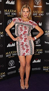 Sophie Monk Australian actor and singer