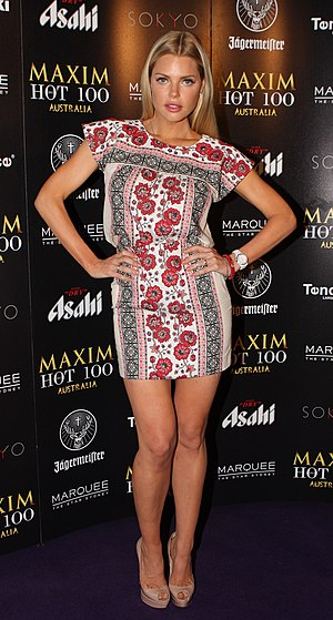 Sophie Monk - Sophie Monk at Maxim Australia's Hot 100 Halloween Bash in October 2012.