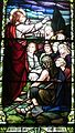 Sorrowful Mother Shrine Chapel (Bellevue, Ohio) - stained glass, Jesus Zealous for Souls.jpg