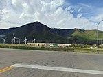 South-soutwest across US-6 & US-89 junction in Spanish Fork, Utah, May 16.jpg