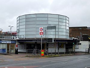 South Ruislip station - Station building