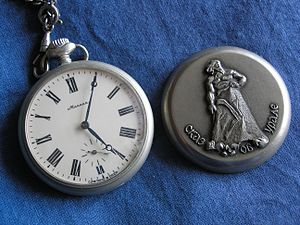 Soviet pocket watch