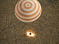 Soyuz TMA-08M spacecraft parachute-assisted touchdown HQ.jpg