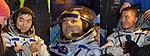 Soyuz TMA-17M crew shortly after landing.jpg