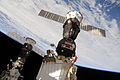 Soyuz TMA-19 docked to the Rassvet Mini-Research Module.jpg