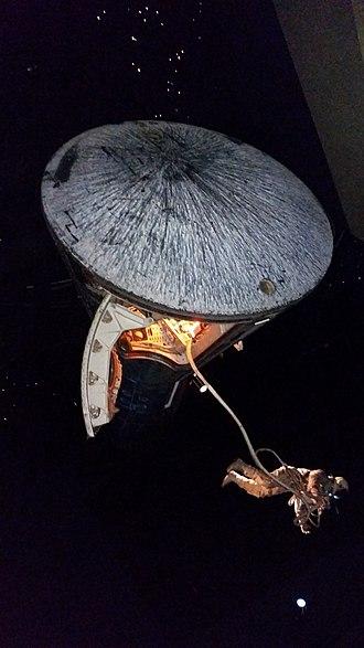 Space Center Houston - Image: Space Center Houston Gemini 5 spacewalk