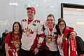 Special Olympics World Winter Games 2017 arrivals Vienna - Canada 02.jpg