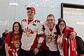 Special Olympics World Winter Games 2017 arrivals Vienna - Canada 02.jpg