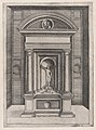 Speculum Romanae Magnificentiae- The Altar of Jupiter in the Oldest Temple on the Capitol MET DP870076.jpg