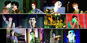 Split Enz - Split Enz at the Nambassa festival, New Zealand, January 1979