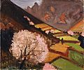 Spring Scene at Shodoshima by Fujishima Takeji (Pola Museum of Art).jpg