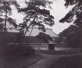 Tokyo Imperial Palace - Meiji-era palace structures, destroyed during World War II