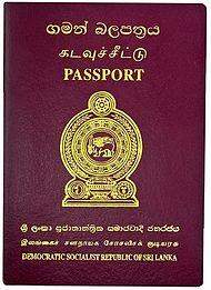 Sri Lankan passport - Wikipedia