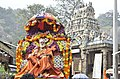 Sri Siddheswarananda Bharati Swami near Courtalleswar Temple, Courtallam.jpg