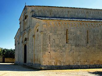 Saint-Florent Cathedral - Image: St Florent cathedrale fronton