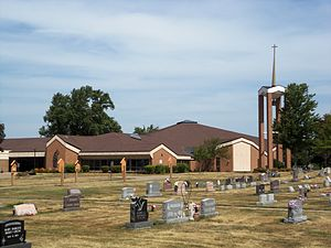 Long Grove, Iowa - St. Ann's Catholic Church and Cemetery