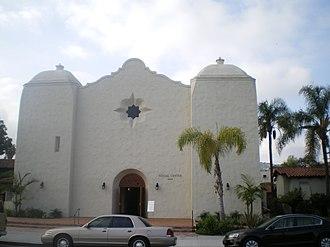 St. Charles Borromeo Church (North Hollywood) - St. Charles Borromeo Parish Hall (Old Church)