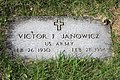 St. Joseph Cemetery (Lockbourne, Ohio) - Vic Janowicz grave.jpg