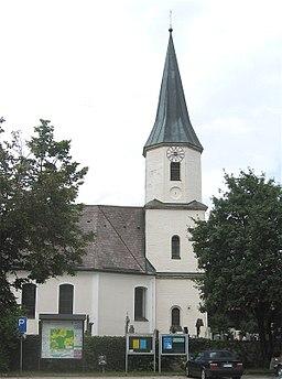 Kirche St. Nikolaus in Brunnthal