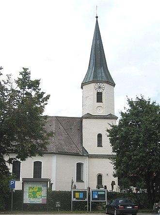 Brunnthal - Saint Nicholas Church