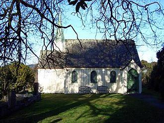 St Barnabas Church, Warrington - St Barnabas Church viewed from north.