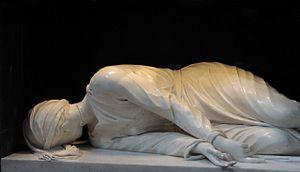 Baroque sculpture - Image: St Cecilia's Martyrdom