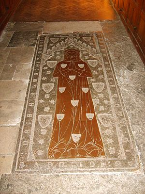 Wimple - Image: St Georges Trotton 14