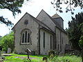 St John the Baptist's Church, Clayton, West Sussex - Exterior from Northeast.JPG