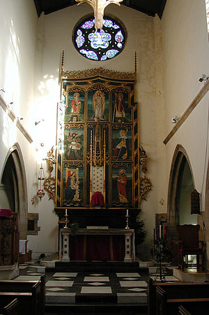 Sheringham -  The east end of St Joseph's interior