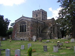 St Luke's Church, Stoke Hammond - geograph.org.uk - 211772.jpg