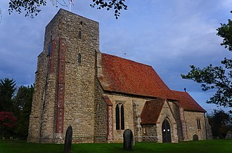 Kingsnorth - Image: St Michael and All Angels Kingsnorth 1