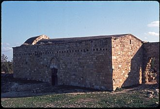 Akrotiri (village) - Image: St Nicholas in 1973 35 mm agfachrome