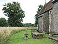 St Peter's church - churchyard - geograph.org.uk - 1405738.jpg