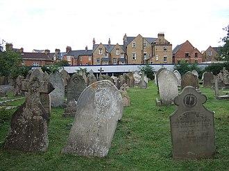 St Sepulchre's Cemetery - View of St Sepulchre's Cemetery.
