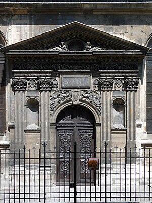 Hôtel des Tournelles - Tournelle gate to St. Nicolas des Champs