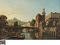 Stadsgezicht in Spanje, 1875, Groeningemuseum, 0040078000.jpg