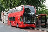 Stagecoach London 13066 on Route 177, Greenwich Cutty Sark (19000981162).jpg