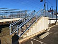 Stairs at Clinton station, December 2019.JPG