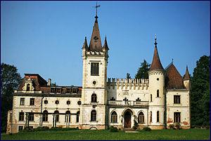 Stāmeriena Palace - Image: Stameriena manor (1)