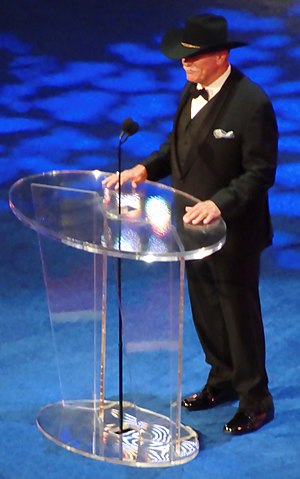 Stan Hansen - Stan Hansen in the WWE Hall of Fame.